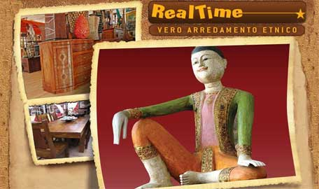 Real time import arredamento etnico tibetano arredamento for Corsico mobili